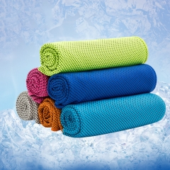 Sport Magic Ice Cooling Towel for Keeping Body Cooling