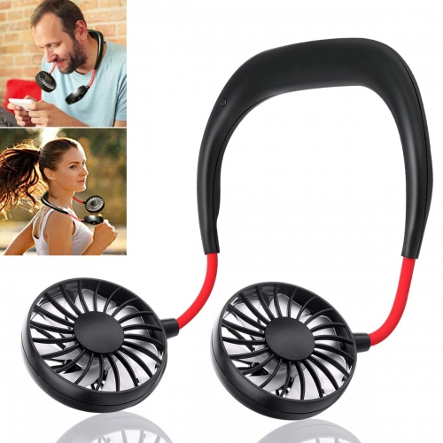 Hand Free Mini Personal Fan Wearable Sports Fan