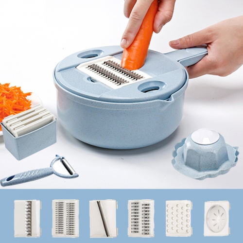 Manual Multi-function Wheat Straw Kitchen Grater Shredder Cutlery Vegetable Cutter