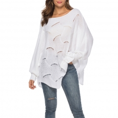 Batwing Sleeve Loose Casual Pullover Knitwear